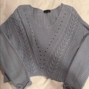 Topshop Light blue sweater size 8